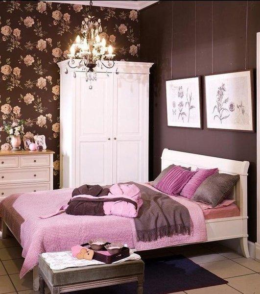 Beautiful Chambre Marron Et Rose Photos - Design Trends 2017 ...