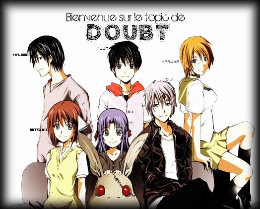 L'horreur du manga DOUBT 7042789